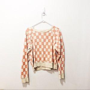 Madewell Checkerboard Sweatshirt